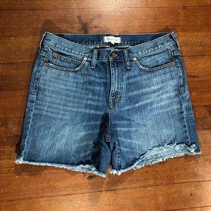 Madewell Denim Shorts Size 30